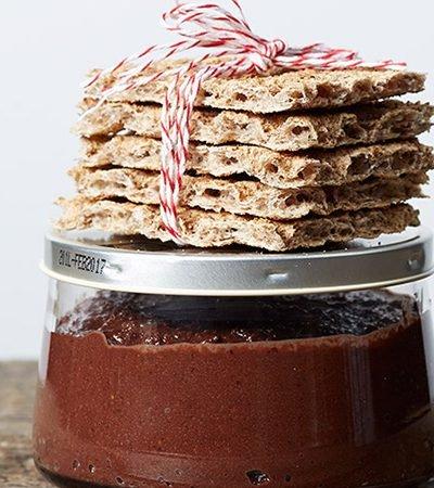 Crema de chocolate + galletas