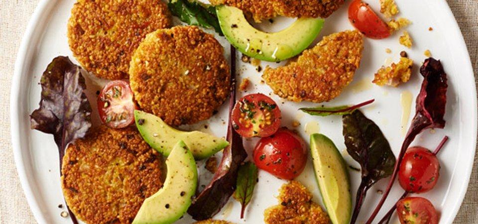 Croquetas de quinoa y queso manchego