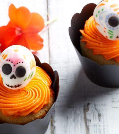 Cupcake Calavera