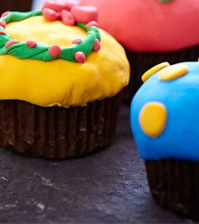 Cupcakes Infantiles Navideños