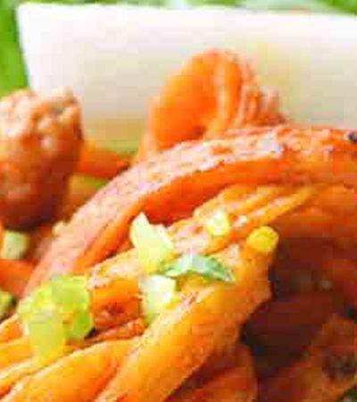 Ensalada de surimi con chipotle y jícama