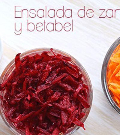 Ensalada de Betabel y Zanahoria