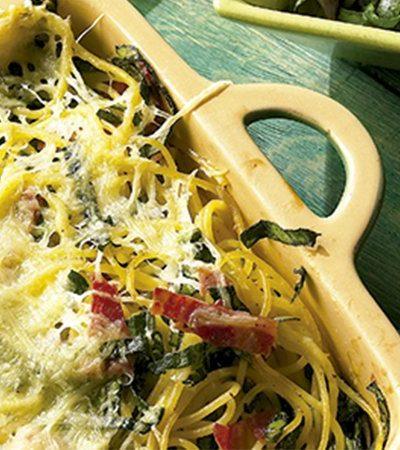 Spaghetti al horno