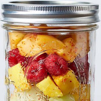 Frasco de frutas