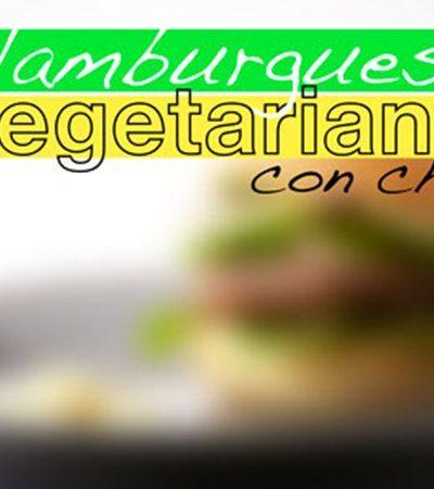 Hamburguesas vegetarianas con chía