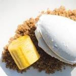 Helado de coco y vainilla