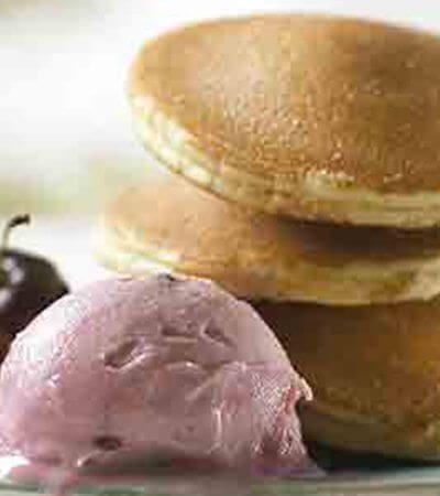 Hotcakes y helado