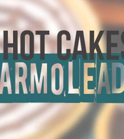 Hotcakes integrales marmoleados