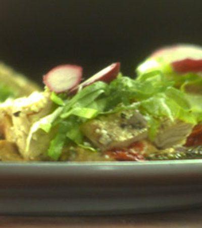 Huaraches de nopal con obela