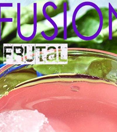 Infusión frutal helada