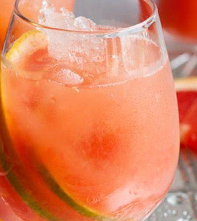 Margarita de toronja sin alcohol