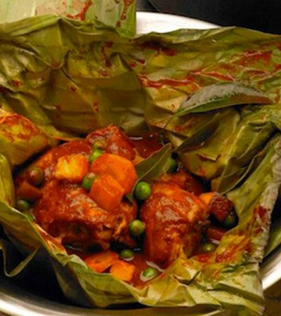 Mixiote de pollo