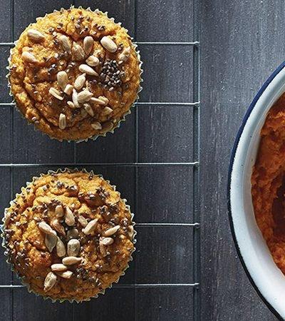 Muffins de calabaza y chía
