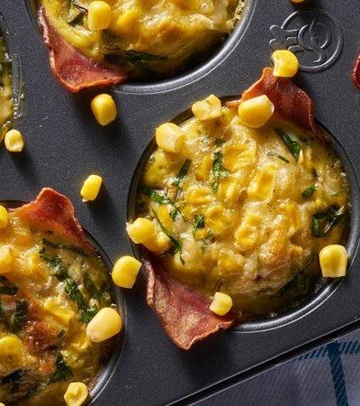 Receta de muffins de huevo
