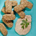 Nuggets de lentejas con tahini