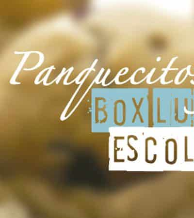 Panquecitos y box lunch escolar