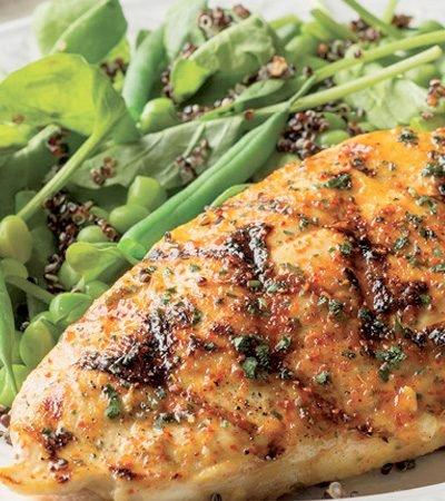 Receta de pechuga de pollo a la plancha fácil