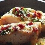 pescado al horno con arandanos y salsa de naranja recetas chef oropeza