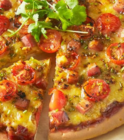 Pizza de tomates