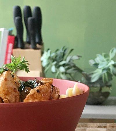 Receta de pollo al chipolte con ajo fácil