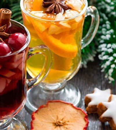 Ponche de frutas reducido en azúcar