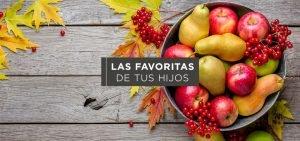 Frutas de temporada que les encanta a tus hijos