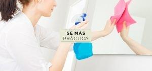 Tips para limpiar la casa fácilmente