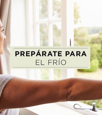 5 tips y 5 alimentos para mantener el calor