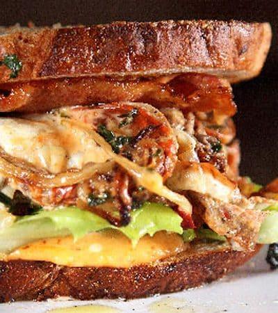 Sandwich de Cangrejo Suave