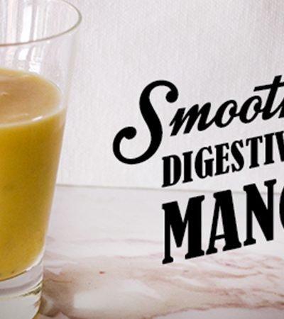 Smoothie digestivo de mango