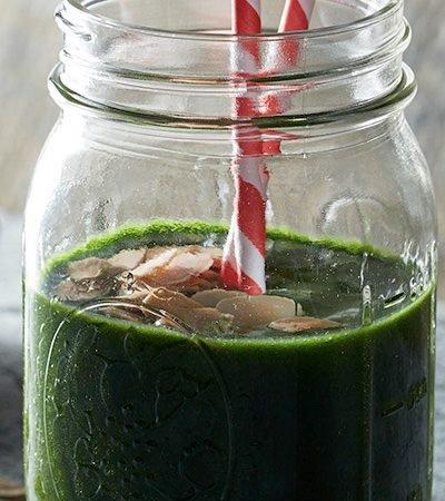 smoothie verde para el desayuno recetas chef oropeza