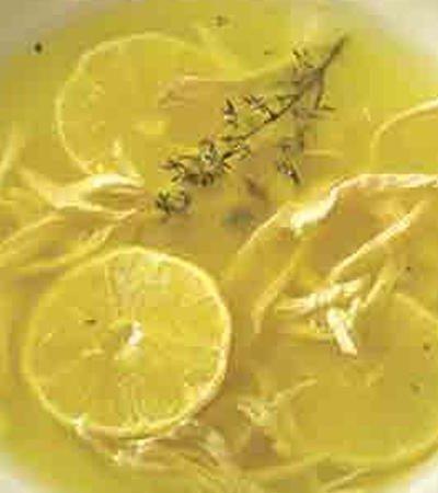 Sopa de lima estilo Oropeza