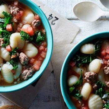 Receta sopa toscana de res recetas chef oropeza