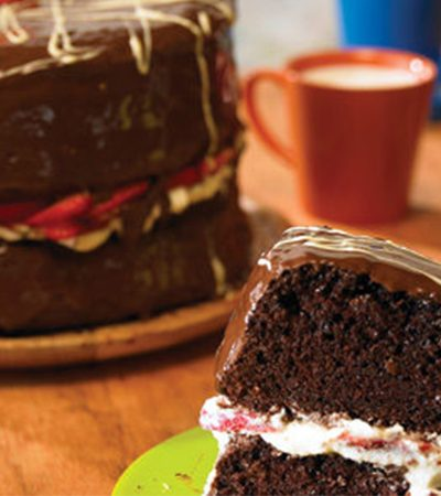 Súper pastel de chocolate
