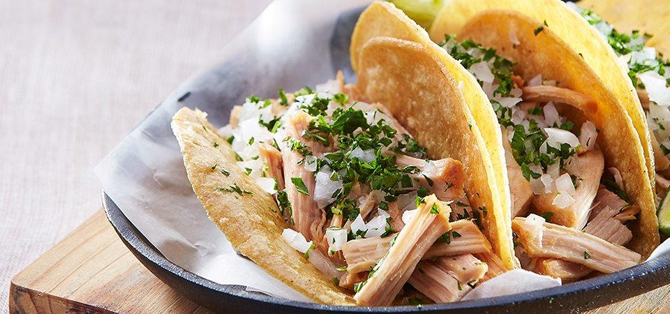 Tacos de carnitas caseras   Chef Oropeza
