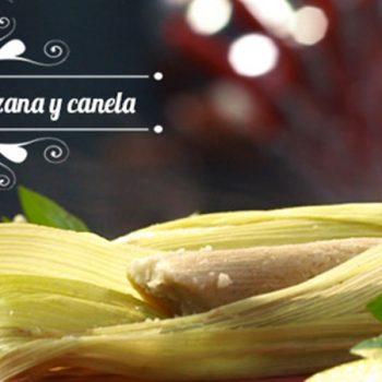 Tamalitos de Manzana y Canela
