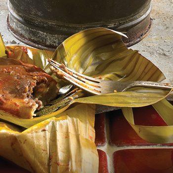 Tamalitos de Pollo con Mole