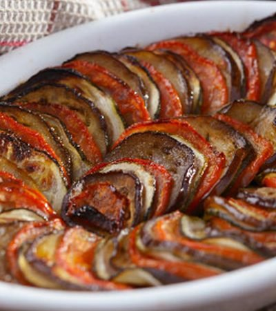 Tarta Ratatouille
