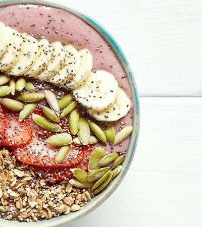 Receta de bowl para el desayuno
