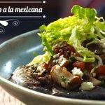 Tlacoyos con Hongos a la Mexicana