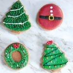 Galletas navideñas decoradas