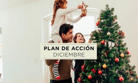 Plan de acciones en diciembre