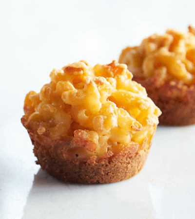 Muffins mac and cheese