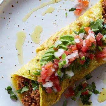 Omelette de Atún en Chipotle