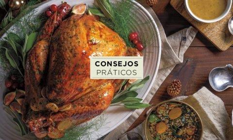 ¿Cuanta comida debes servir en la cena navideña?