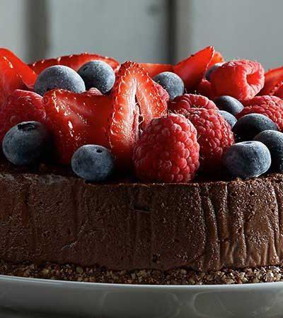 cheesecake-de-chocolate-y-fresas