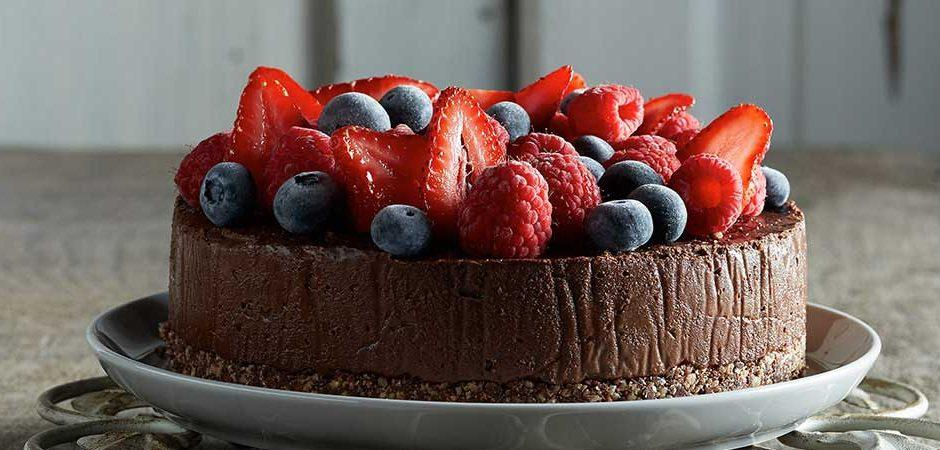 cheesecake-de-chocolate-y-fresas