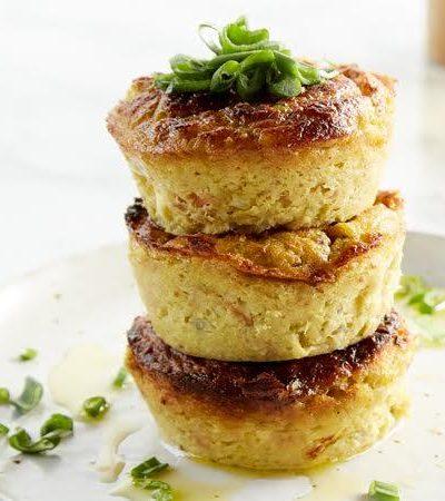 muffins de atun y elote