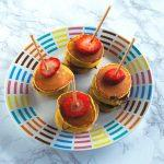 Brochetas Mini de Hot cakes