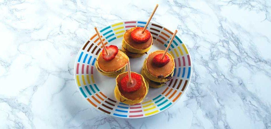Brochetas Mini de Hot cakes